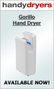 Gorillo Hand Dryer - White