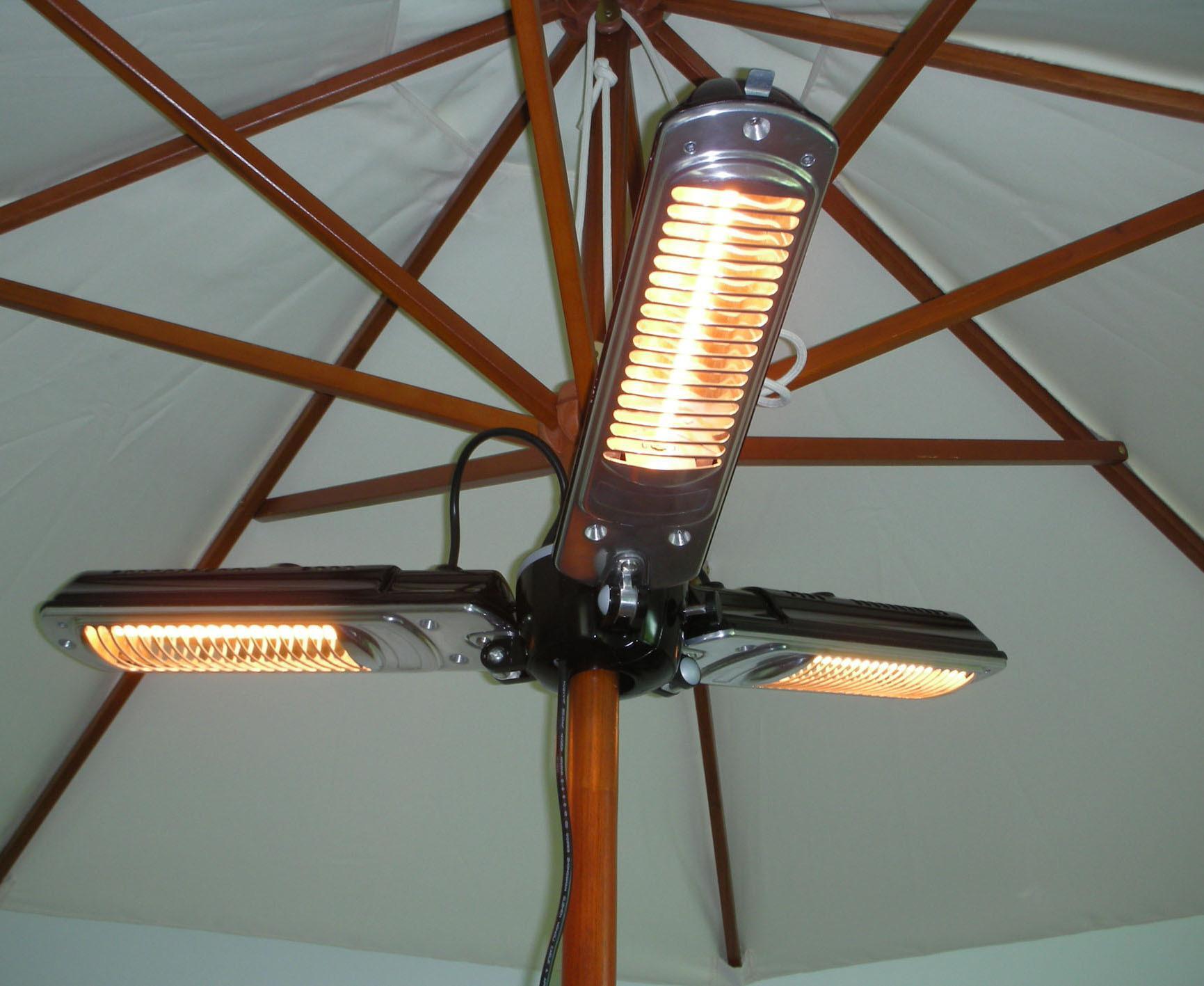 Parasol patio heater patio heater review for Parasol chauffant de table