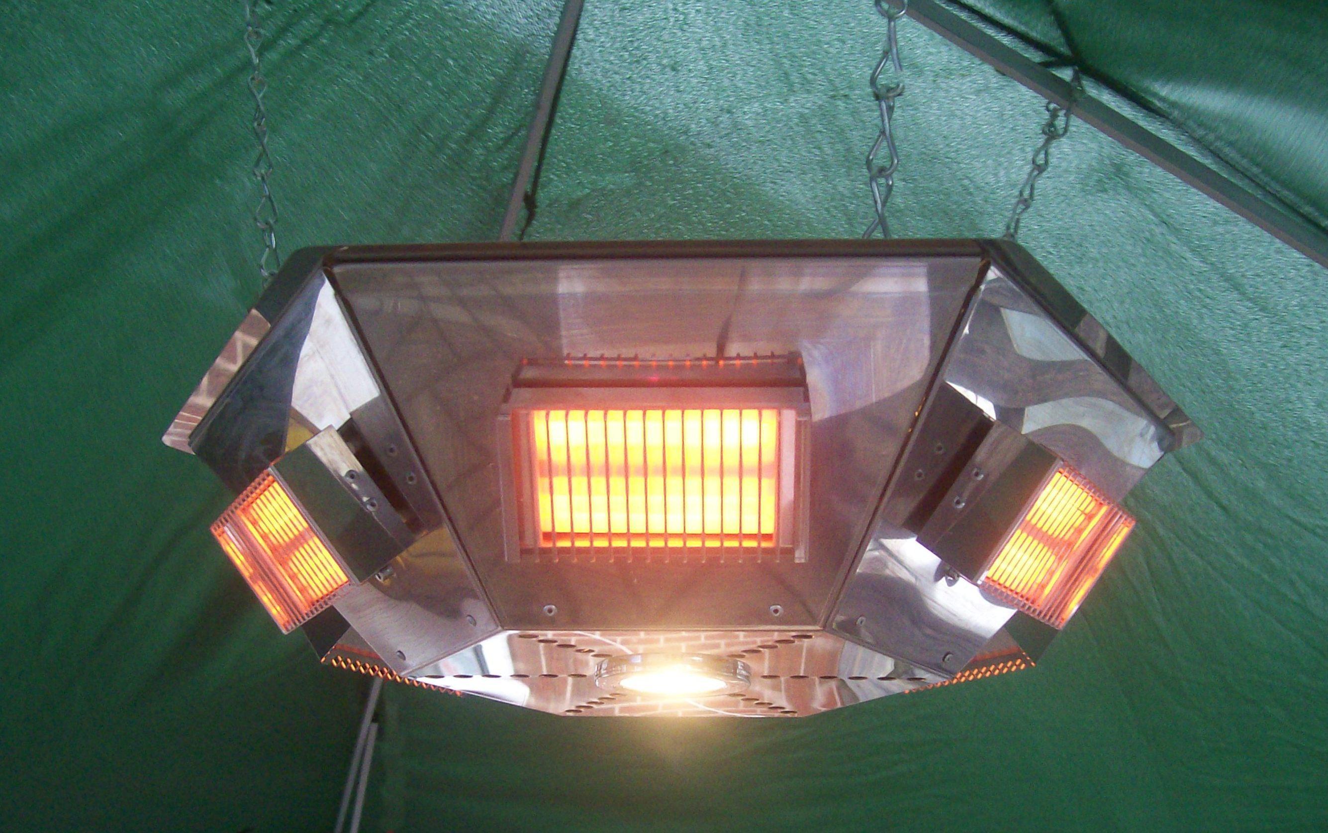 Pendant Gazebo Heater 3kw And 6kw Heat Outdoors