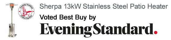 Sherpa 13kW voted best buy by Evening Standard