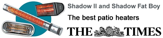 Shadow Fat Boy and Shadow || - The Times : The best patio heaters