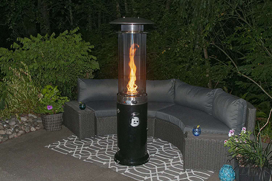 Heat Outdoors Gas Patio Heater
