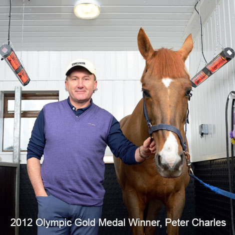 2012 Olympic Gold Medal Winner, Peter Charles with Shadow Horse Solarium