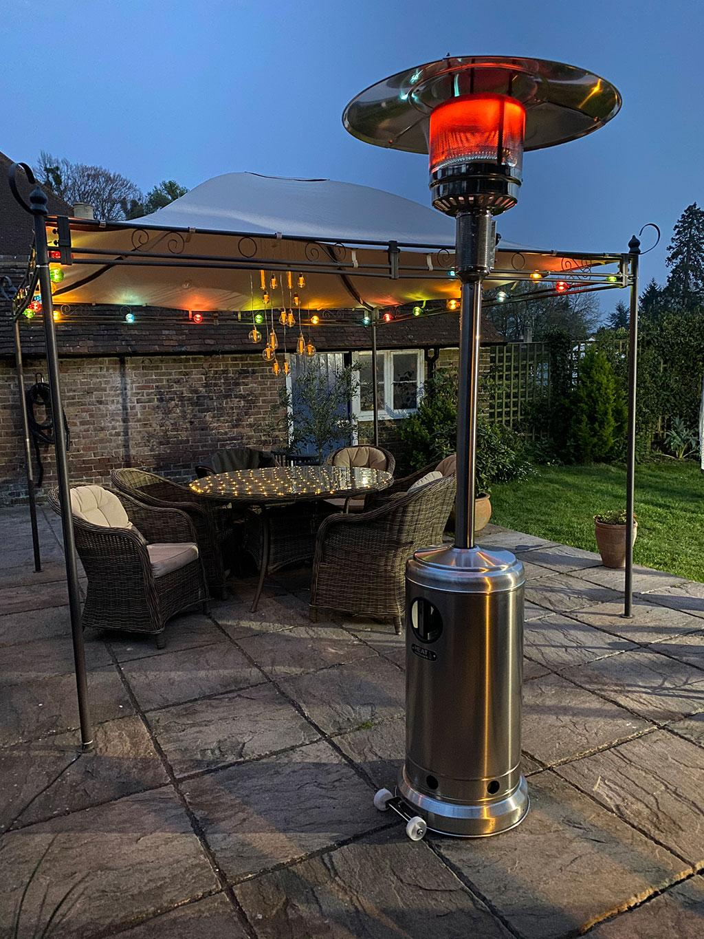 Sherpa Patio heater for the home and restaurant