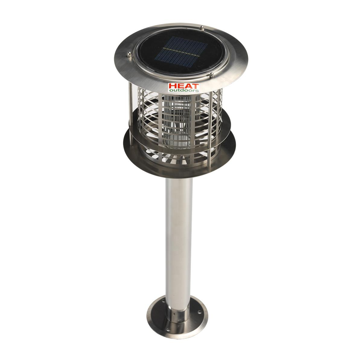 Solar Powered Insect Killer Amp Garden Light Fly