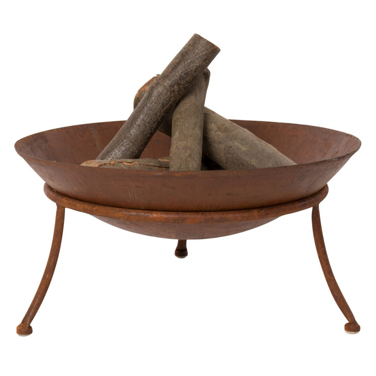 BrownRust Fire Pit