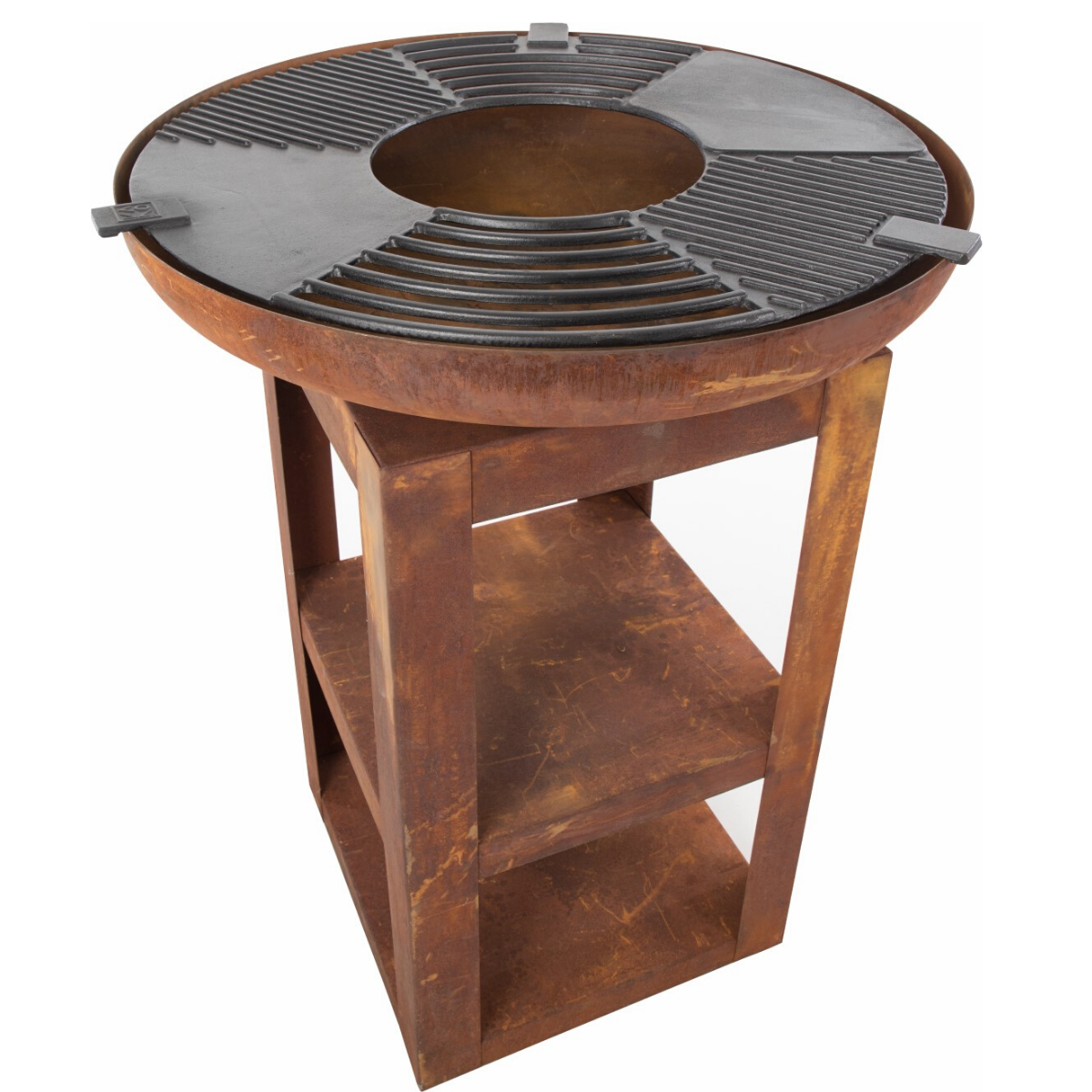 BrownRust Barbecue Fire Pit - Plancha