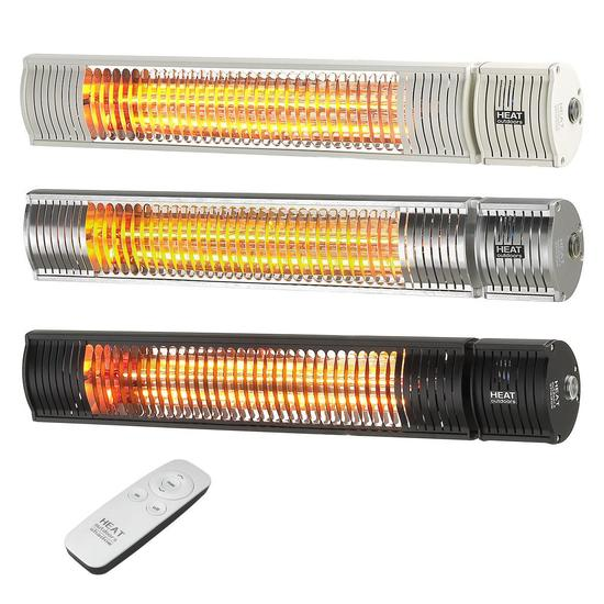 Shadow 1.5kW & 2kW Ultra Low Glare Patio Heater with Remote Control