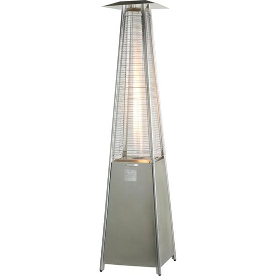 Athena Stainless Steel Flame Gas Patio Heater