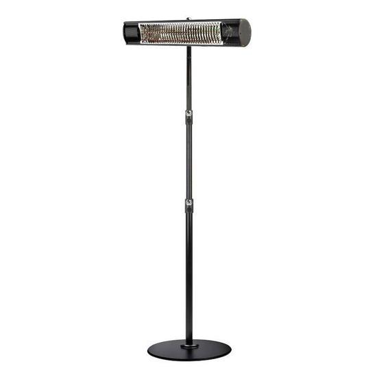 Shadow 1.5kW and 2kW Ultra Low Glare Remote Control Patio Heater with Stand