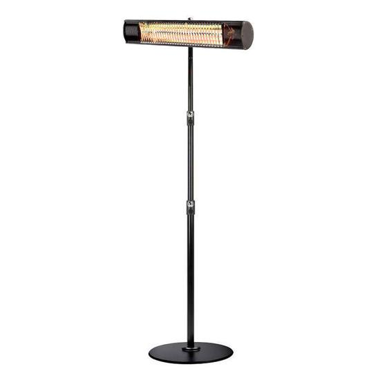 Shadow 1.5kW and 2kW Ultra Low Glare Patio Heater with Stand