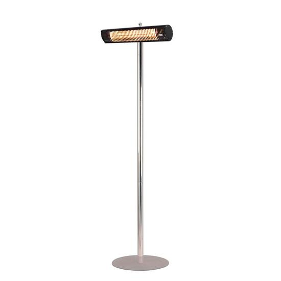 Shadow 1.5kW and 2kW Ultra Low Glare Patio Heater with Stainless Steel Stand