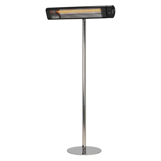 Shadow Carbon 3kW Carbon Infrared Patio Heater with Stainless Steel Stand