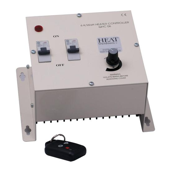 6kW Remote Variable Heater Controller - (Remote Optional)