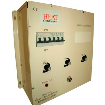 18kW or 24kW  3-Zone Professional Heater Controller