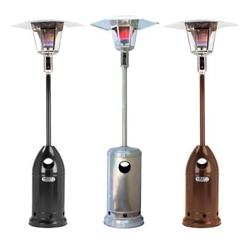 LONDON Gas Lamp 15kW Flame Patio Heater