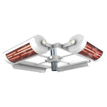 Solamagic 5.6kW Infrared Parasol Heater - White